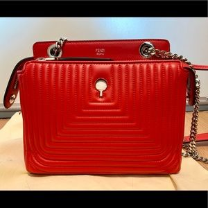 Fendi Dotcom Click Shoulder Bag